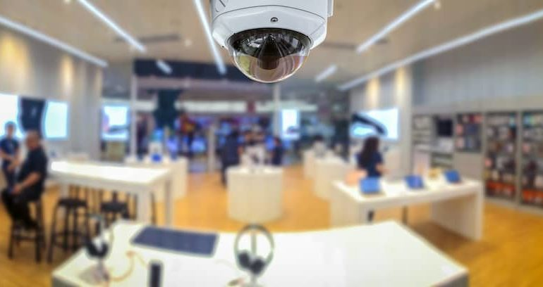 An office security system used to protect business assets and staff.